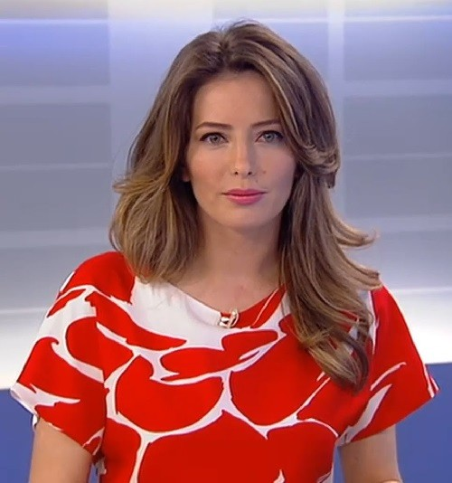 Most beautiful Russian TV presenters. Tatiana Stolyarova